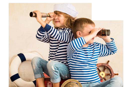 Kinderen-met-verrekijkers